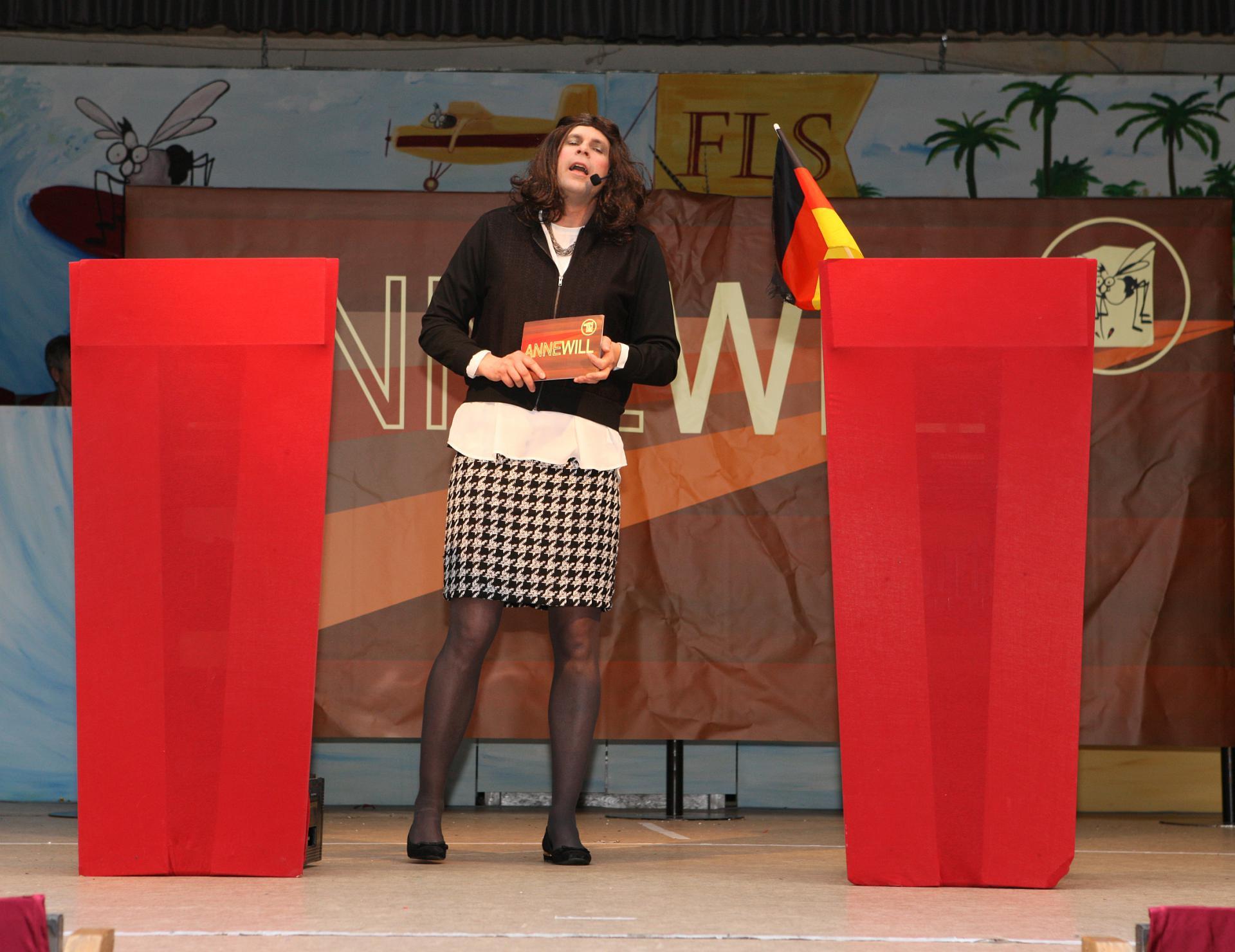 Bütt Anne Will - Sitzung Lengfurt 2017