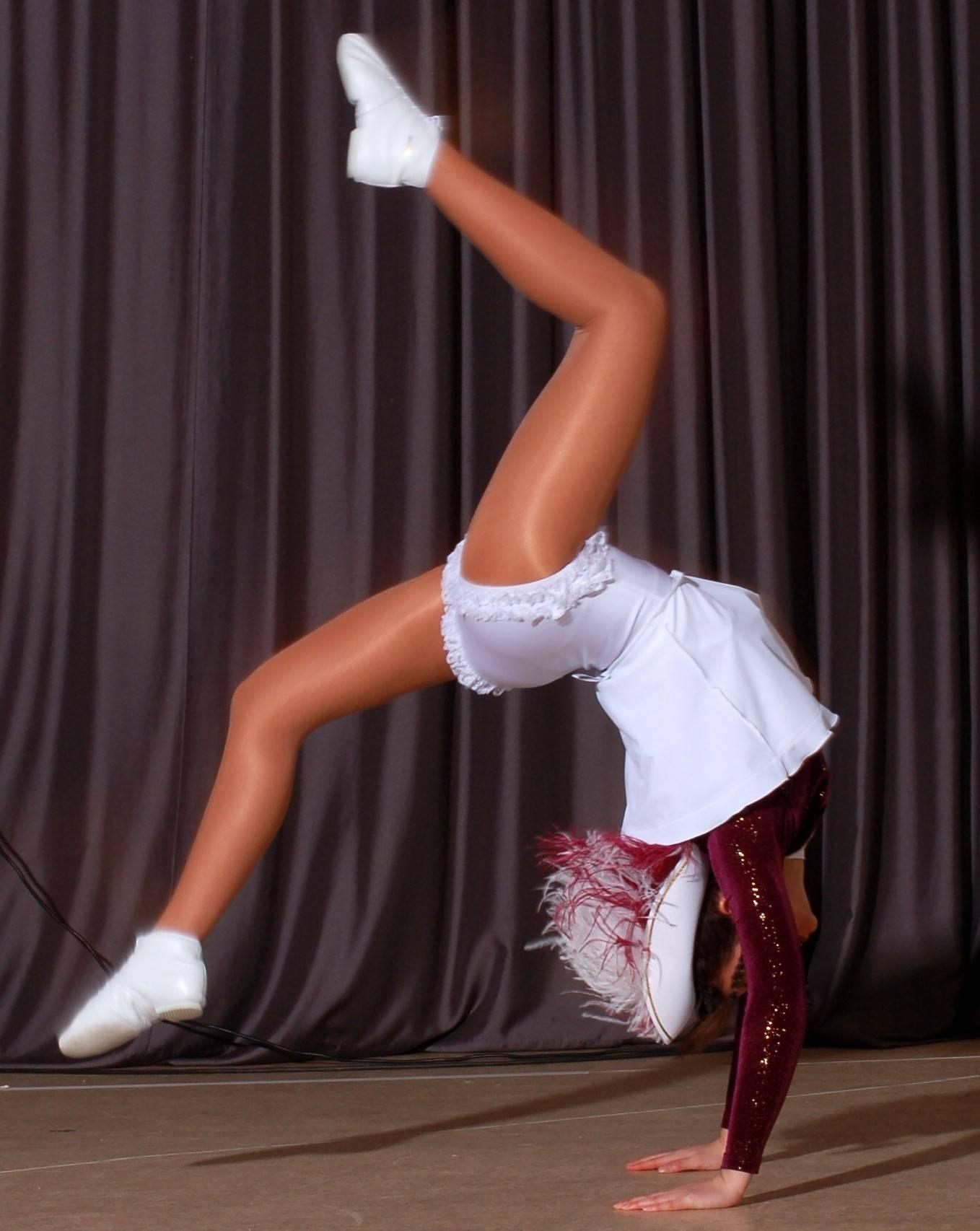 Tanzmariechen Jacqueline. Foto: Manfred Eizenhöfer
