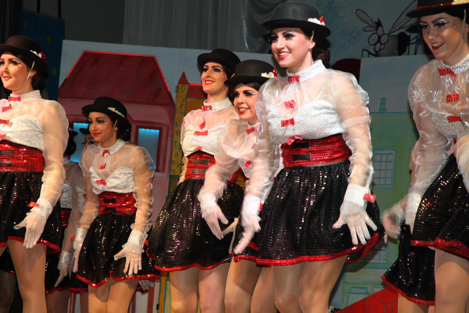Showtanzgruppe - Sitzung Lengfurt 2017 13
