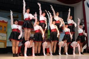 Showtanzgruppe - Sitzung Lengfurt 2017 6