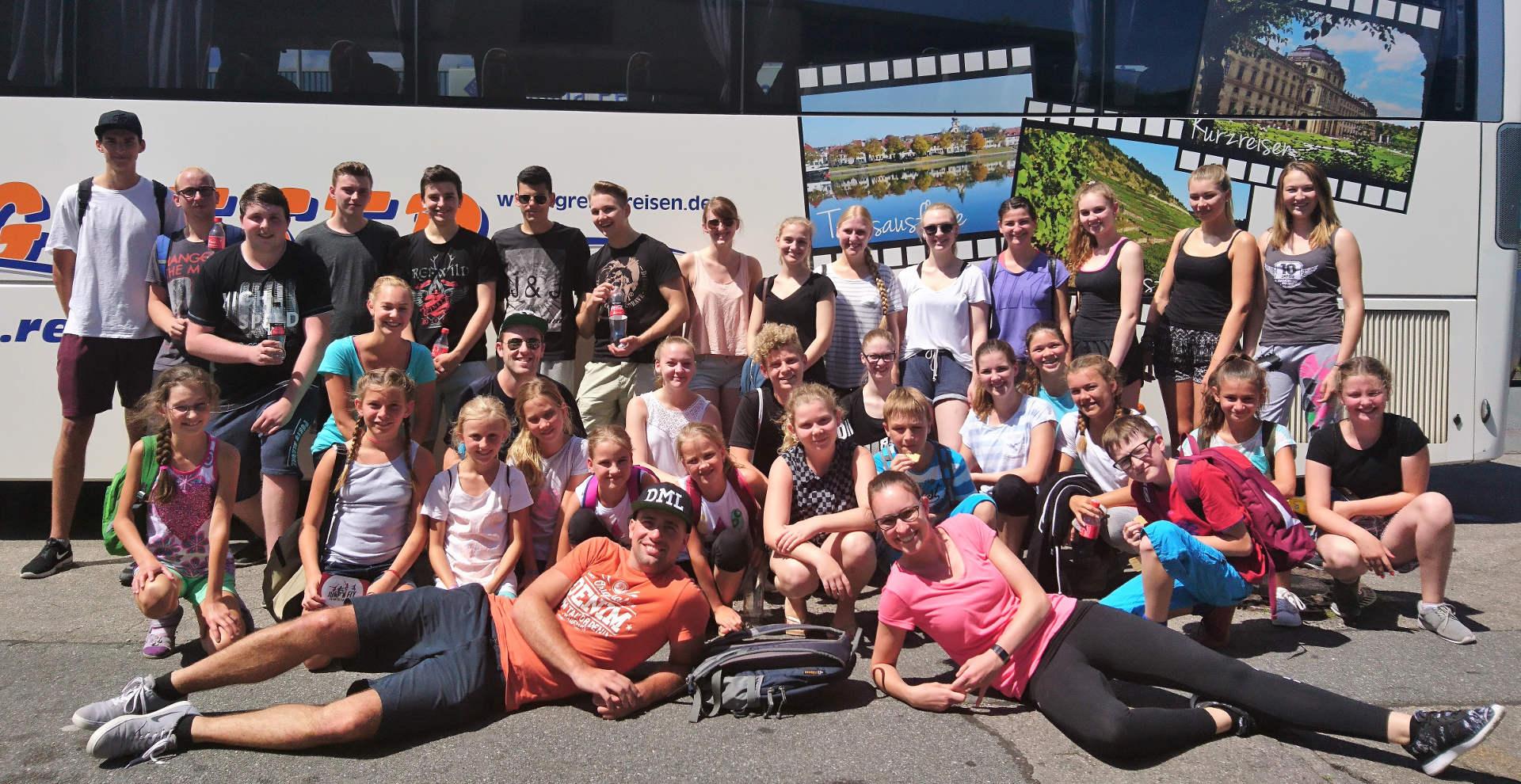 Jugendausflug 2017 zum Jump'n'Fly Trampolinpark