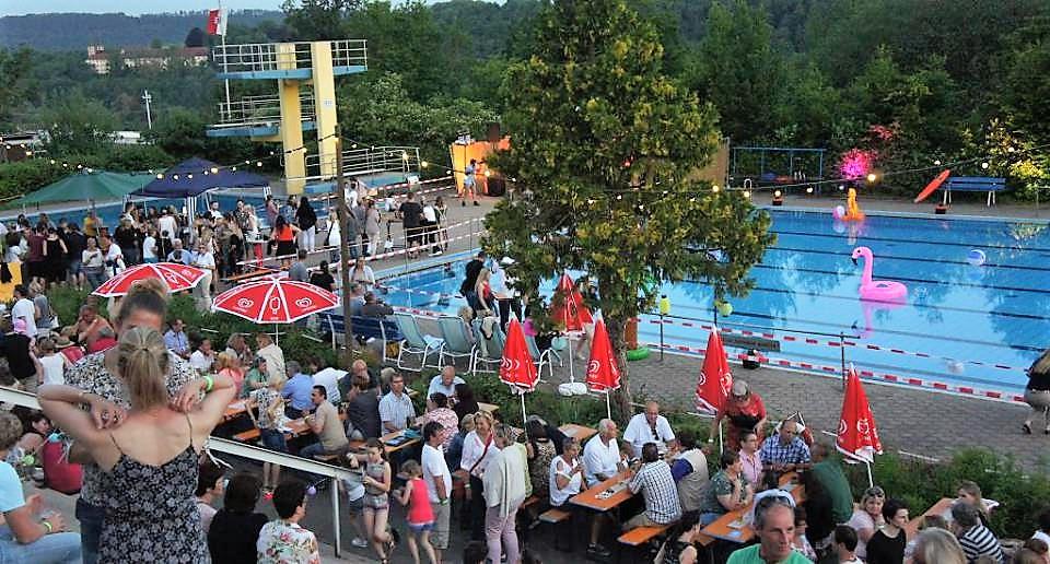 Waldbadfest Lengfurt Triefenstein 2017