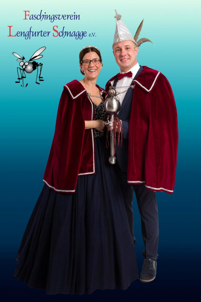 Prinzenpaar 2018/19: Julia I. und Karsten I. Foto: Rafael Pilarksy