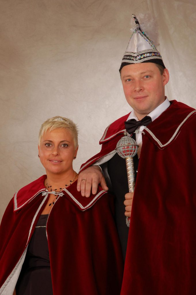 Prinzenpaar 2010-2011: Verena I. und Florian I.